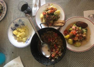 Served Food
